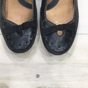 Clark's Artisan Collection leather wedges sz 6.5